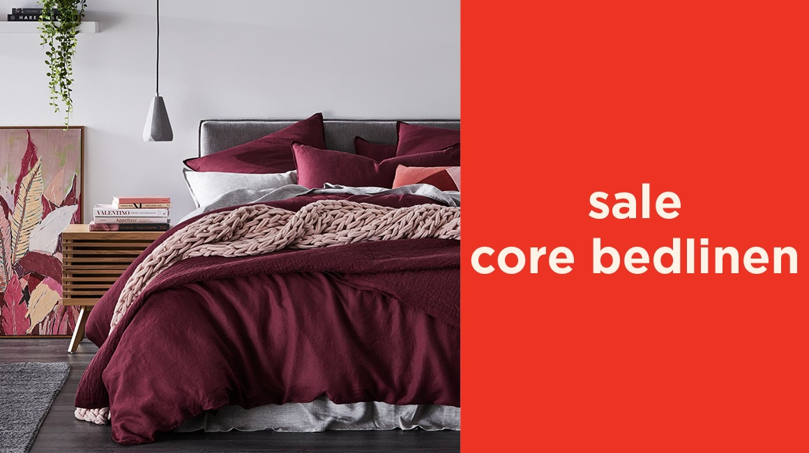 Sale Core Bedlinen