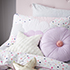 Adairs Kids Purple Cloud Quilted Duvet Cover Set