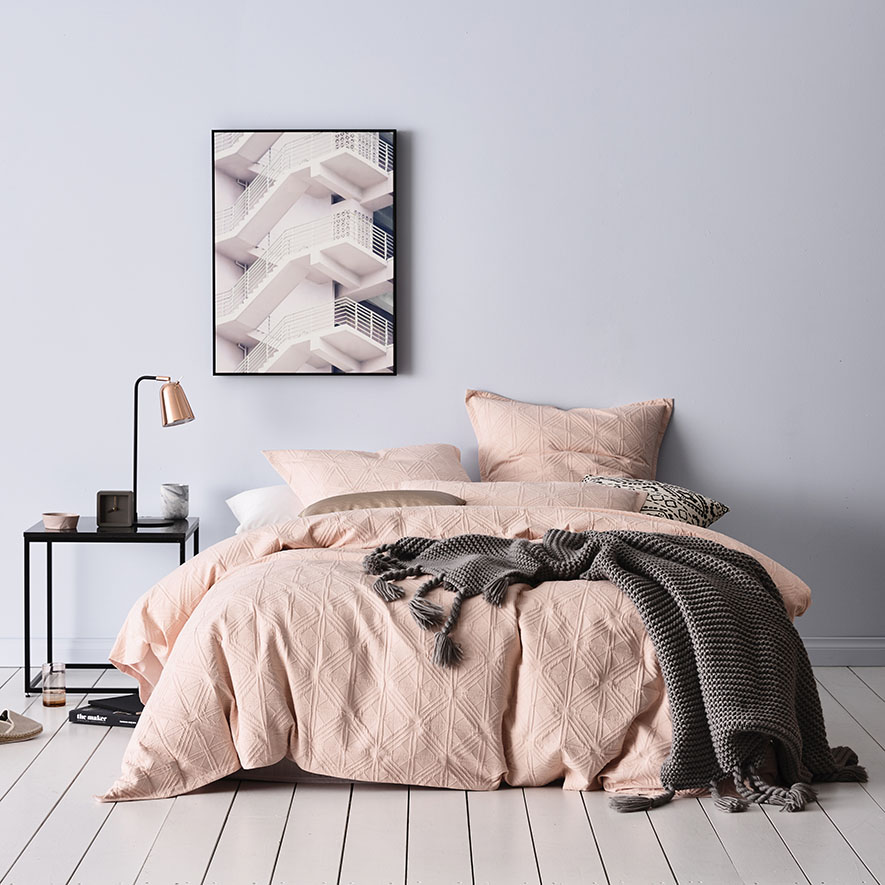 remodelaholic pink pretty bedroom in blush inspiration