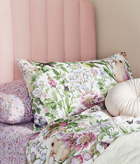 Fleur Harris Springtime Woodlands Duvet Cover (New!)